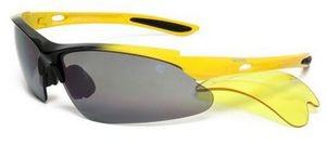 Очки спортивные HI-TEC Kalahari черно-желтые