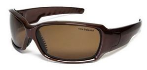 Очки спортивные New Balance NBSUN105 Polarized NBSUN-105 темно-коричневые