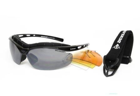 Очки спортивные Dunlop 344 черные