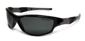 Очки спортивные New Balance NBSUN107 Polarized черно-серые