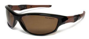 Очки спортивные New Balance NBSUN107 Polarized черно-коричневые