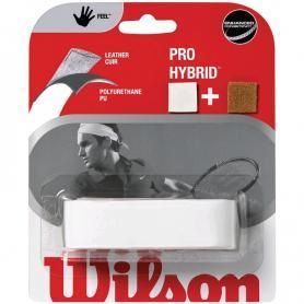 Фото 1 к товару Намотка теннисной ракетки Grip Wilson Hybrid Repl белая