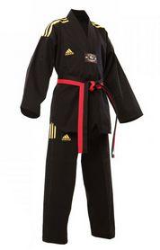Фото 1 к товару Кимоно для тхэквондо Adidas Champion Uniform черное (добок)
