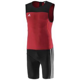 Фото 1 к товару Комбинезон для тяжелой атлетики Adidas WL CL SUIT M красный