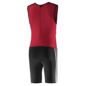 Фото 2 к товару Комбинезон для тяжелой атлетики Adidas WL CL SUIT M красный