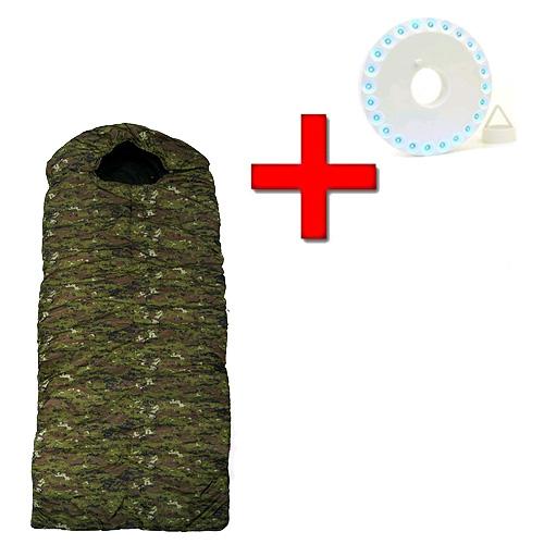 Мешок спальный (спальник) Mountain Outdoor камуфляжный + подарок