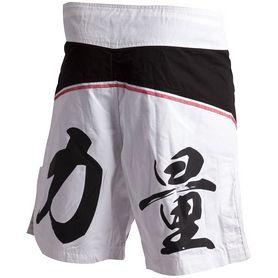 Фото 1 к товару  Шорты для ММА Adidas ADICSS53 черно-белые