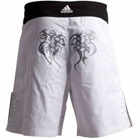 Фото 2 к товару Шорты для MMA Adidas Tribal ADICSS46 белые