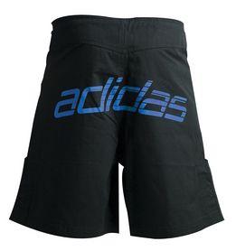 Фото 2 к товару  Шорты для ММА Adidas Boxing Shorts ADICSS43 черно-синие