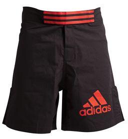 Распродажа*! Шорты для ММА Adidas Boxing Shorts ADICSS43 черно-красные, размер - M