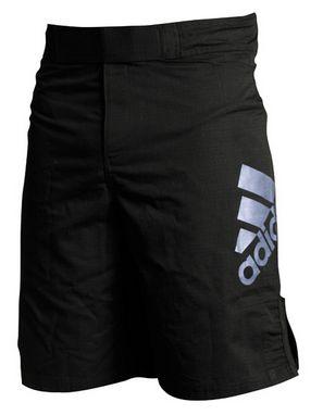 Шорты для MMA Adidas ADICSS52 черно-серебристые