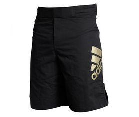 Шорты для MMA Adidas ADICSS52 черно-золотистые - M