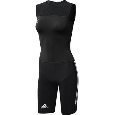Комбинезон для тяжелой атлетики женский Adidas WL CL SUIT W черный