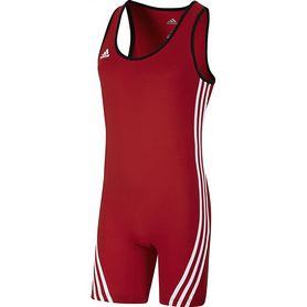 Фото 1 к товару Комбинезон для тяжелой атлетики Adidas Base Lifter Weightlifti красный
