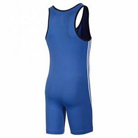 Фото 2 к товару Комбинезон для тяжелой атлетики Adidas Weightlifti Base Lifter синий