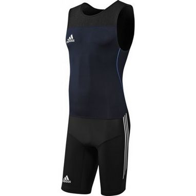 Комбинезон для тяжелой атлетики Adidas Power WL Suit M синий