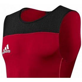 Фото 3 к товару Комбинезон для тяжелой атлетики Adidas Power WL Suit M красный