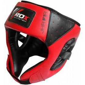 Фото 1 к товару Шлем боксерский детский RDX Red