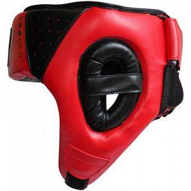 Фото 2 к товару Шлем боксерский детский RDX Red