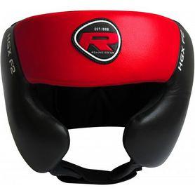 Фото 1 к товару Шлем боксерский тренировочный RDX Red