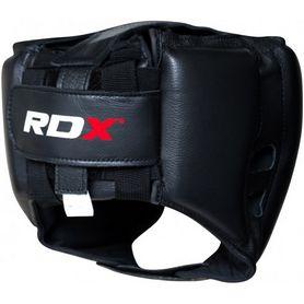 Фото 2 к товару Шлем боксерский тренировочный RDX Red