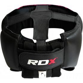 Фото 3 к товару Шлем боксерский тренировочный RDX Red