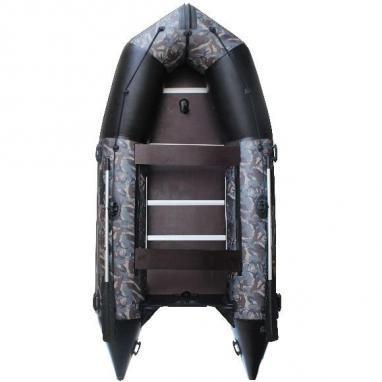 Лодка надувная моторная килевая Aquastar K-390 камуфлированная