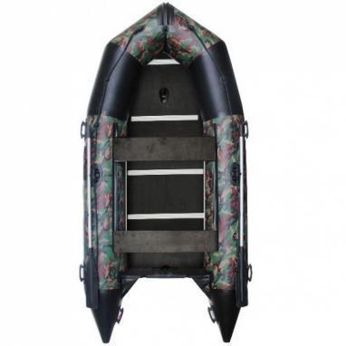 Лодка надувная моторная килевая Aquastar K-360 камуфлированная