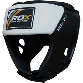 Фото 1 к товару Шлем боксерский тренировочный RDX White