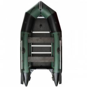 Лодка надувная моторная килевая Aquastar K-340 зеленая