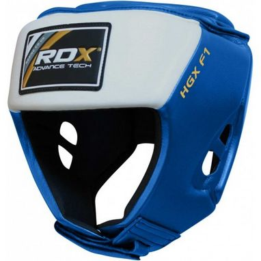 Шлем боксерский для соревнований RDX Blue