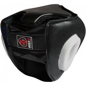 Фото 2 к товару Шлем боксерский тренировочный RDX Guard White