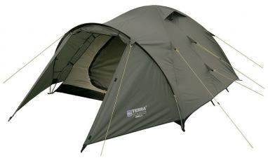 Палатка четырехместная Terra Incognita Zeta 4 зеленая