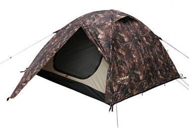 Палатка трехместная Terra Incognita Omega 3 камуфлированная