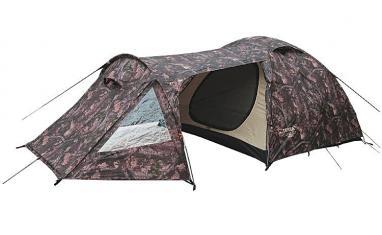 Палатка трехместная Terra Incognita Geos 3 камуфлированная