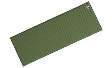 Коврик самонадувающийся Terra Incognita Camper 3.8 (183х63х3,8 см) зеленый