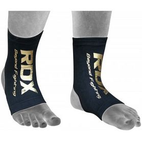 Защита для ног (голеностоп) RDX Black new