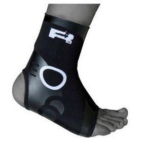 Фото 2 к товару Защита для ног (голеностоп) RDX Neopren Silicon
