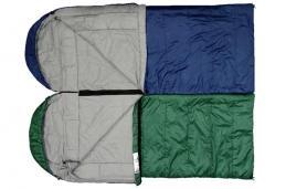 Фото 2 к товару Мешок спальный (спальник) Terra Incognita Asleep Wide 400 правый зеленый