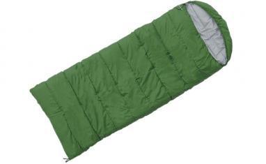 Мешок спальный (спальник) Terra Incognita Asleep Wide 400 левый зеленый