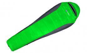 Фото 1 к товару Мешок спальный (спальник) Terra Incognita Siesta 400 правый зеленый-серый