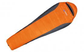 Фото 1 к товару Мешок спальный (спальник) Terra Incognita Siesta 400 правый оранжевый-серый