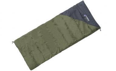 Спальный мешок (спальник) Terra Incognita Campo 200 зеленый-серый