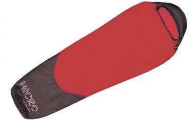 Мешок спальный (спальник) Terra Incognita Compact 1400 правый красный-серый