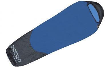 Мешок спальный (спальник) Terra Incognita Compact 700 правый синий-серый
