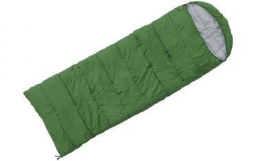 Мешок спальный (спальник) Terra Incognita Asleep 400 левый зеленый