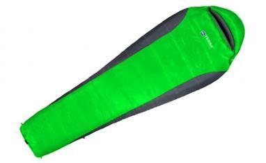 Мешок спальный (спальник) Terra Incognita Siesta 100 правый зеленый-серый