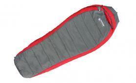 Фото 1 к товару Спальный мешок (спальник) Terra Incognita Termic 2000 правый красный-серый