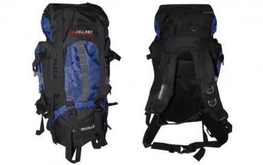 Рюкзак туристический Trekking V-65+10 темно-синий