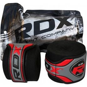 Фото 1 к товару Бинт боксерский RDX Fibra Black (4,5 м)